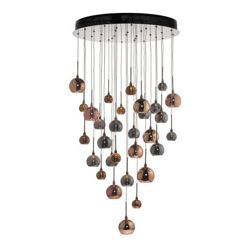 Aurelia Cluster Pendant In Copper & Bronze 3M Drop, class2 , BXAUR3364-17